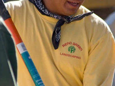 Reno Green worker