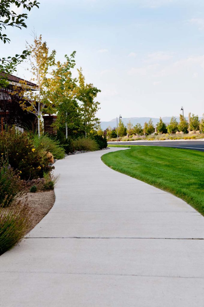 Commercial Landscaping Pioneer Meadows Path