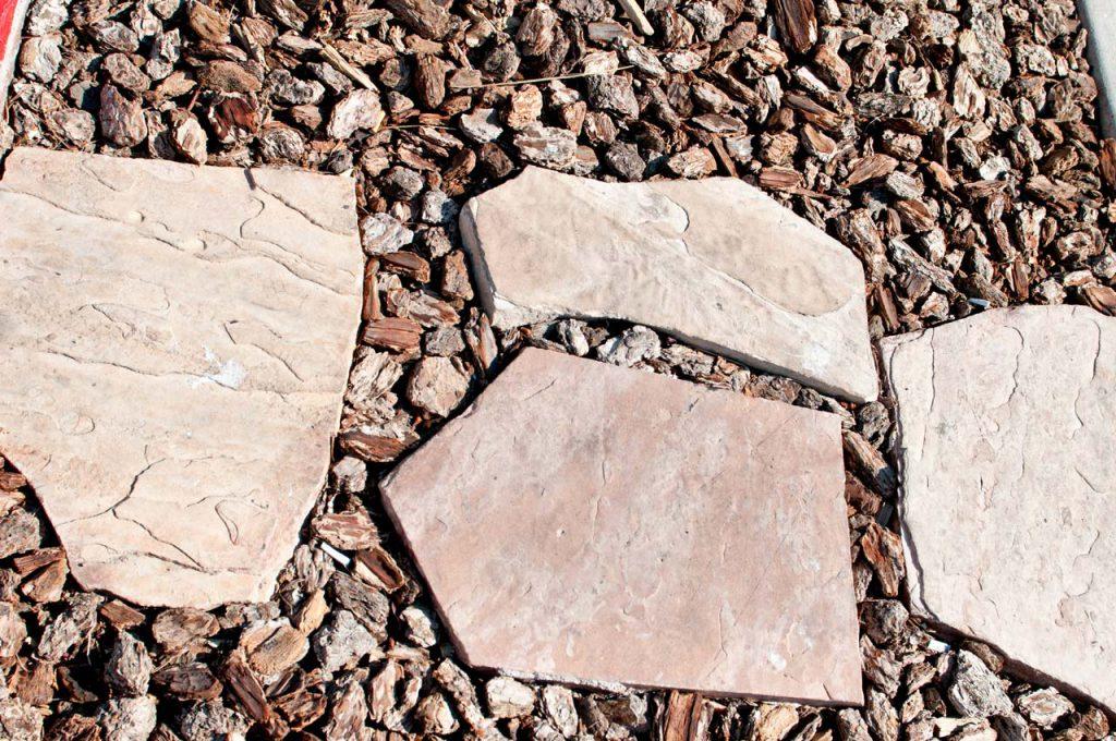 Commercial Landscaping Rock Steps