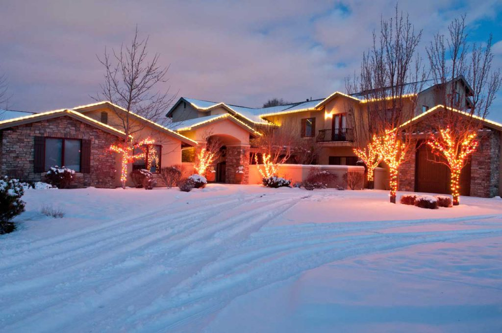 Residential Landscaping Christmas