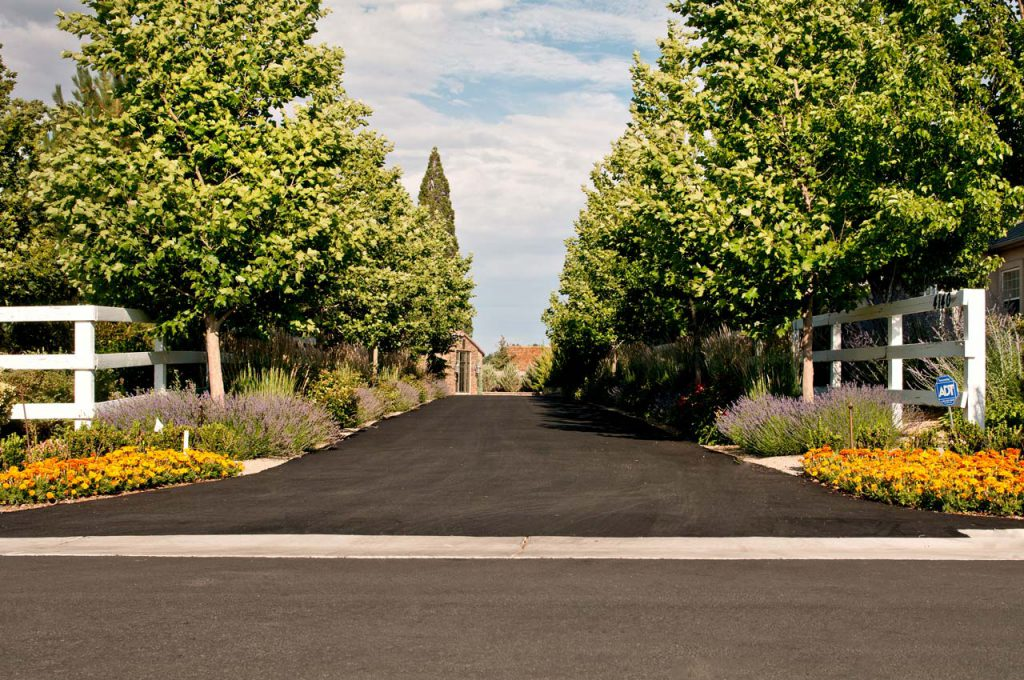 Residential Landscaping Driveway