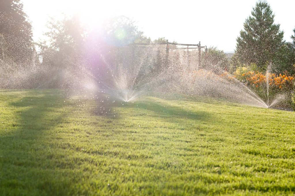 Residential Landscaping Irrigation System
