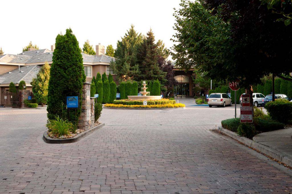 Residential Landscaping Tanamera Housing Entrance