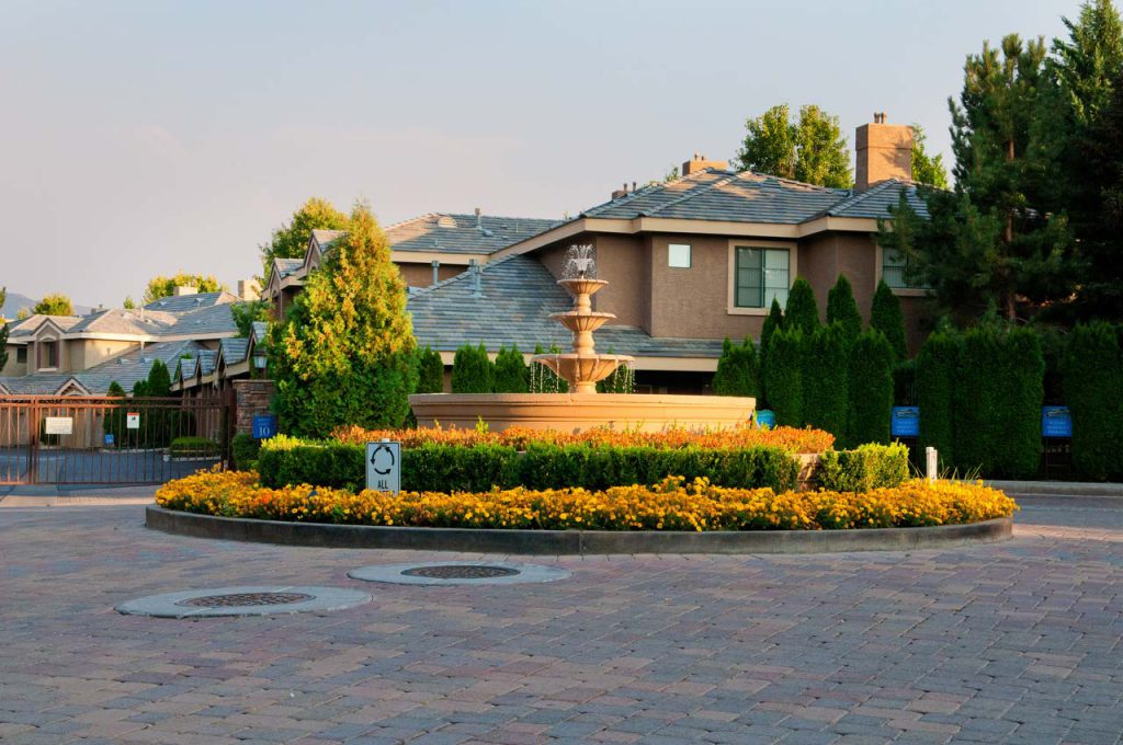 Residential Landscaping Tanamera Housing Roundabout