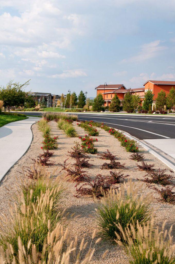 Commercial Park Landscaping