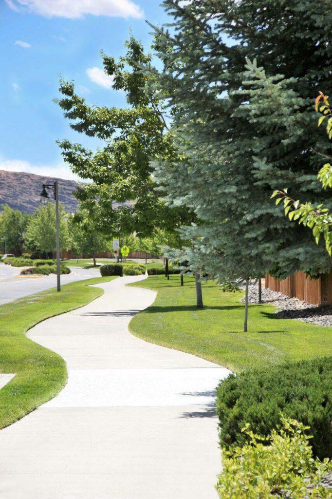 Residential Community Walkway