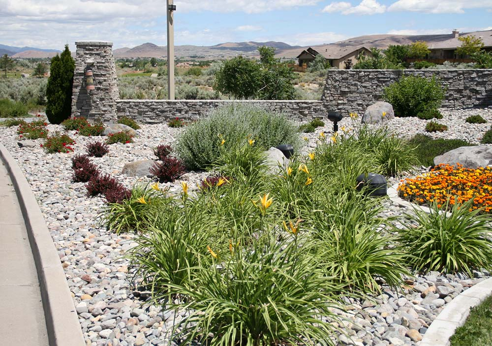 Residential Community Entrance Landscaping