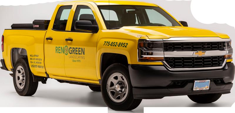 Reno Green Truck