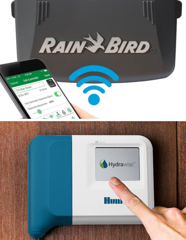 Rain Bird and Hunter Weather Based Irrigation Controllers help you reduce water waste.