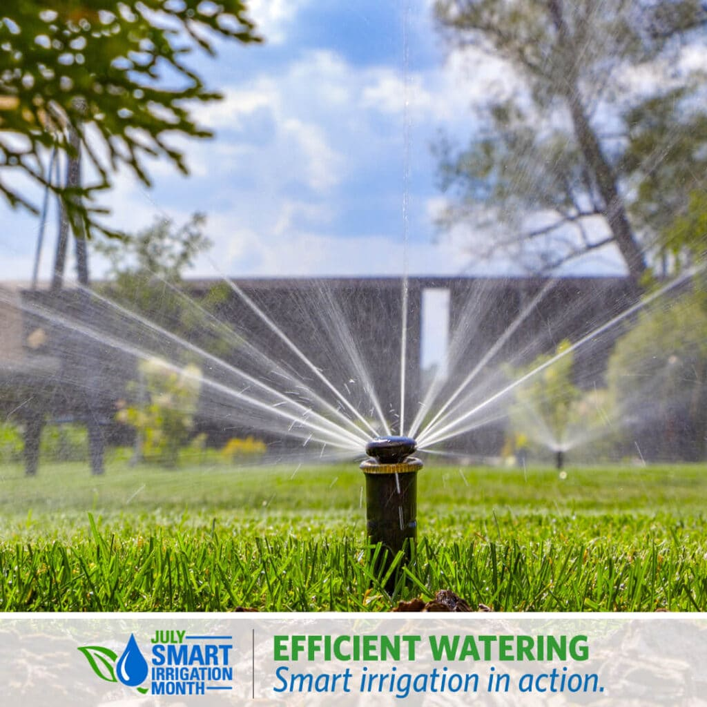 smart about irrigation month
