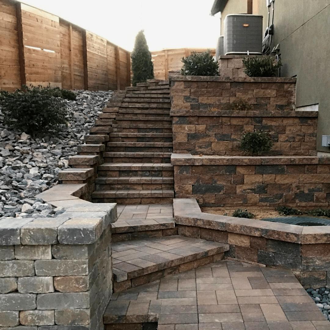 paver steps