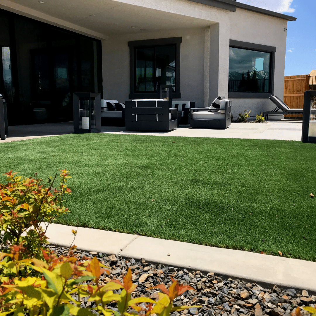 backyard outdoor living artificial turf