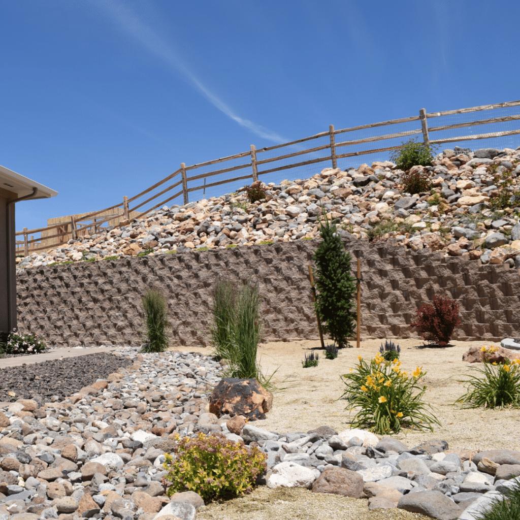 nevada xeriscape reno residential landscape installation
