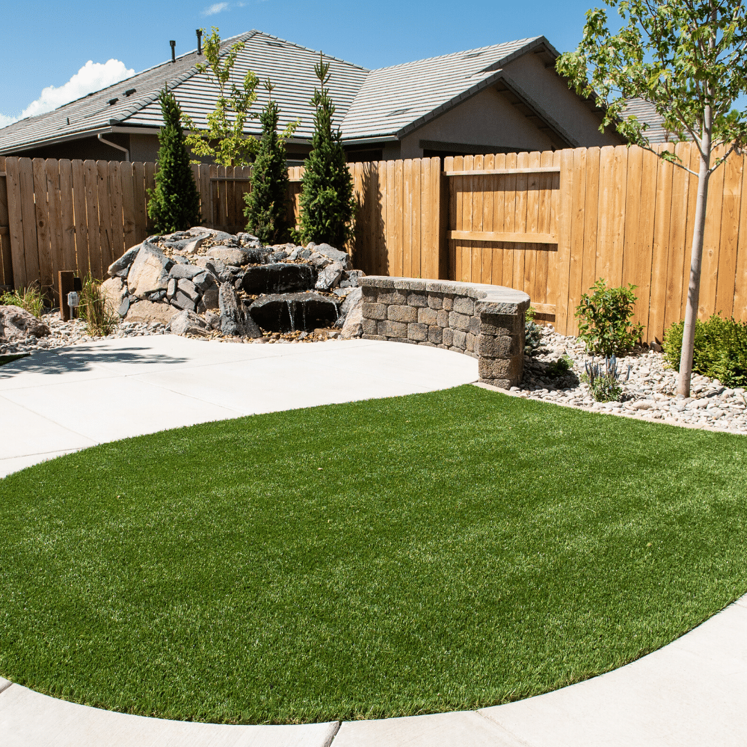 backyard artificial turf