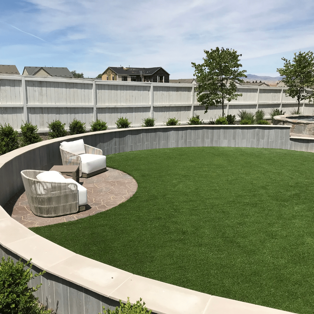 backyard play areas for children and pets artificial turf