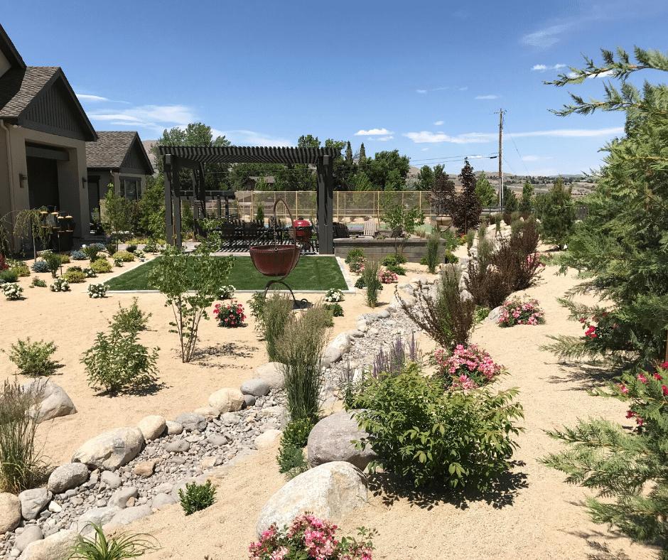 xeriscaping outdoor living