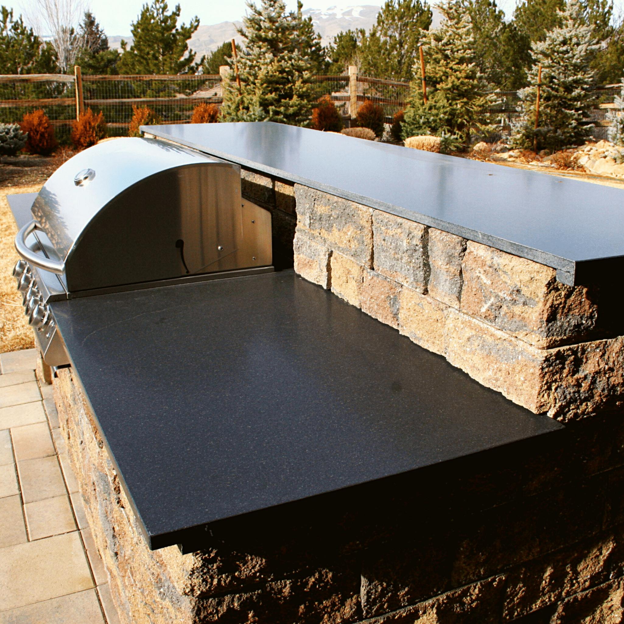 luxury outdoor barbeque