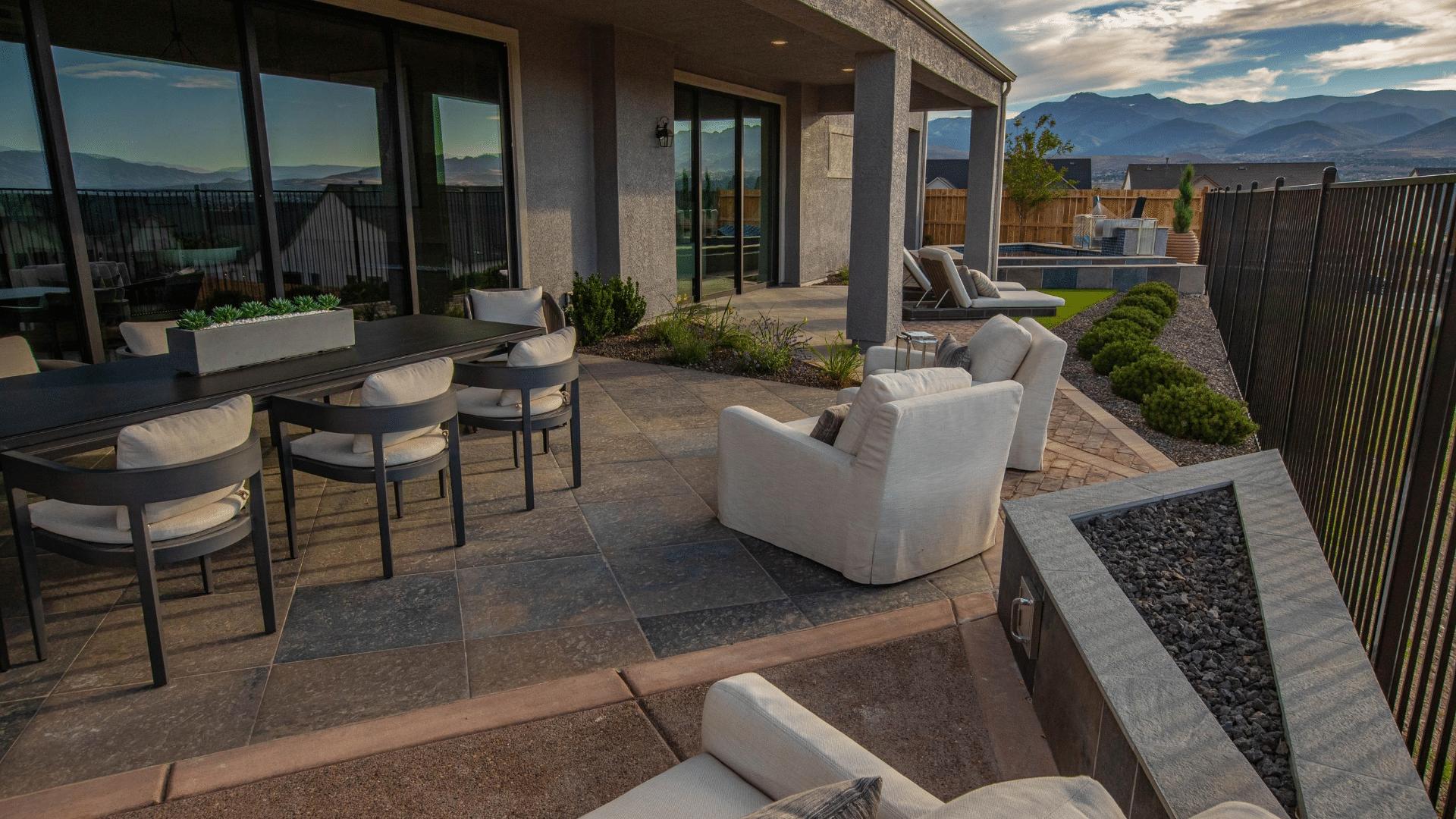 outdoor living backyard