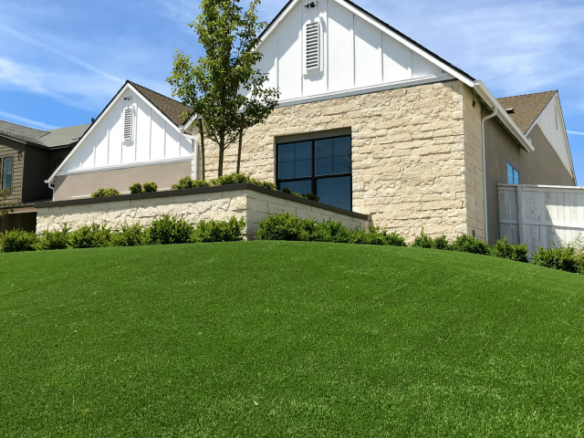 front yard artificial turf