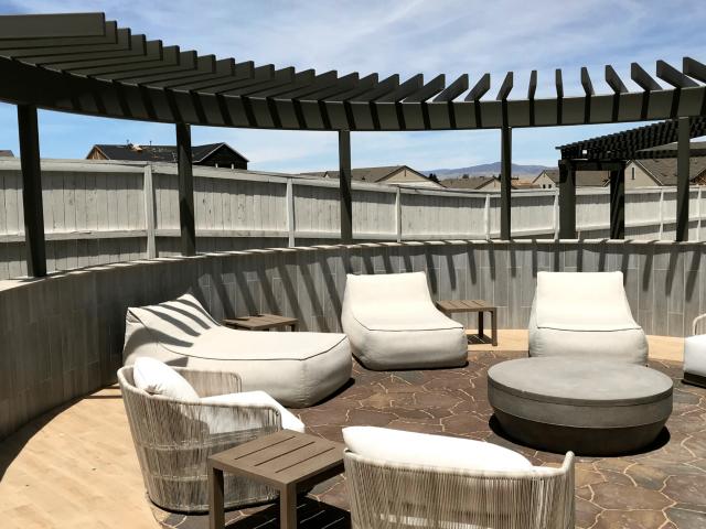 luxury outdoor patio pavers