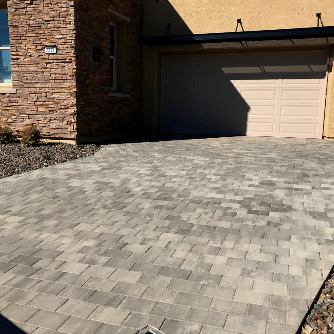 paver driveway