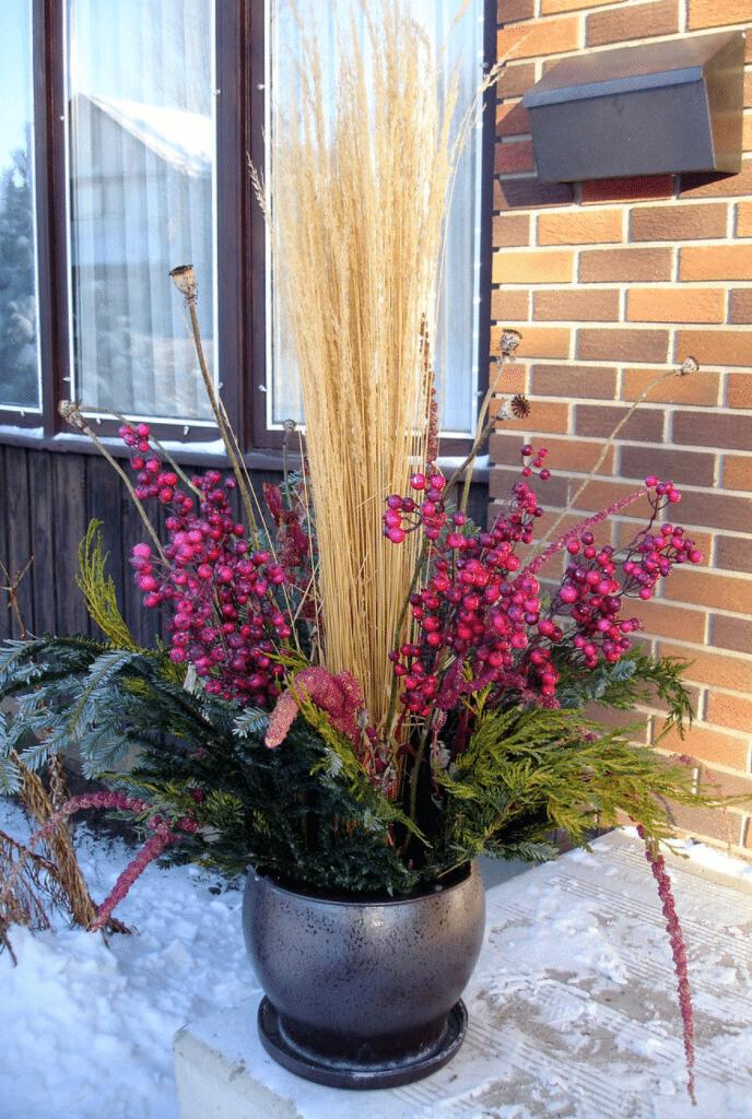 seasonal container garden