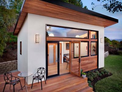 backyard office sheds