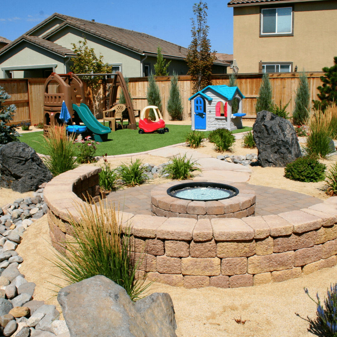 xeriscaping reno backyard