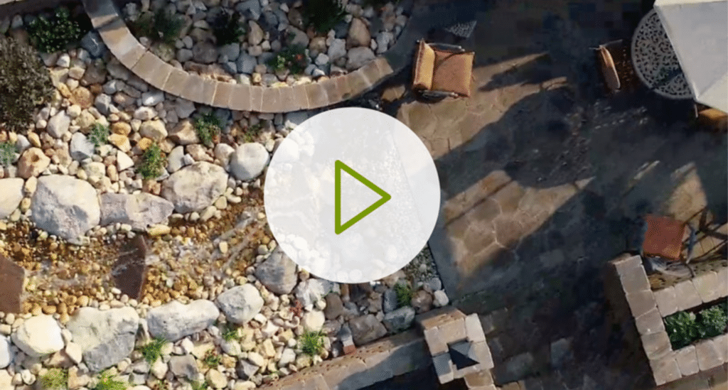 Custom backyard residential installation design video